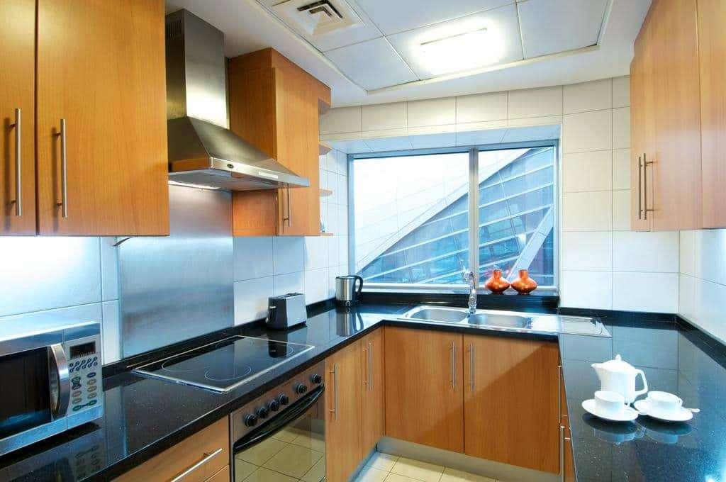 AlSalam Hotel Suites kitchen