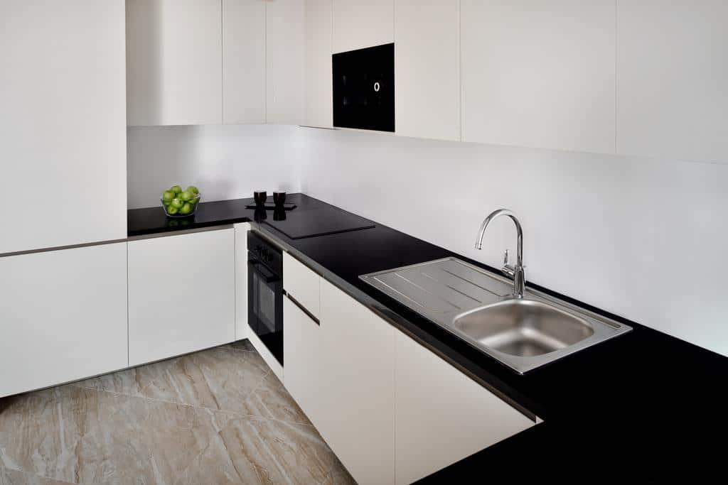 Bedroom Apartment indoor kitchen