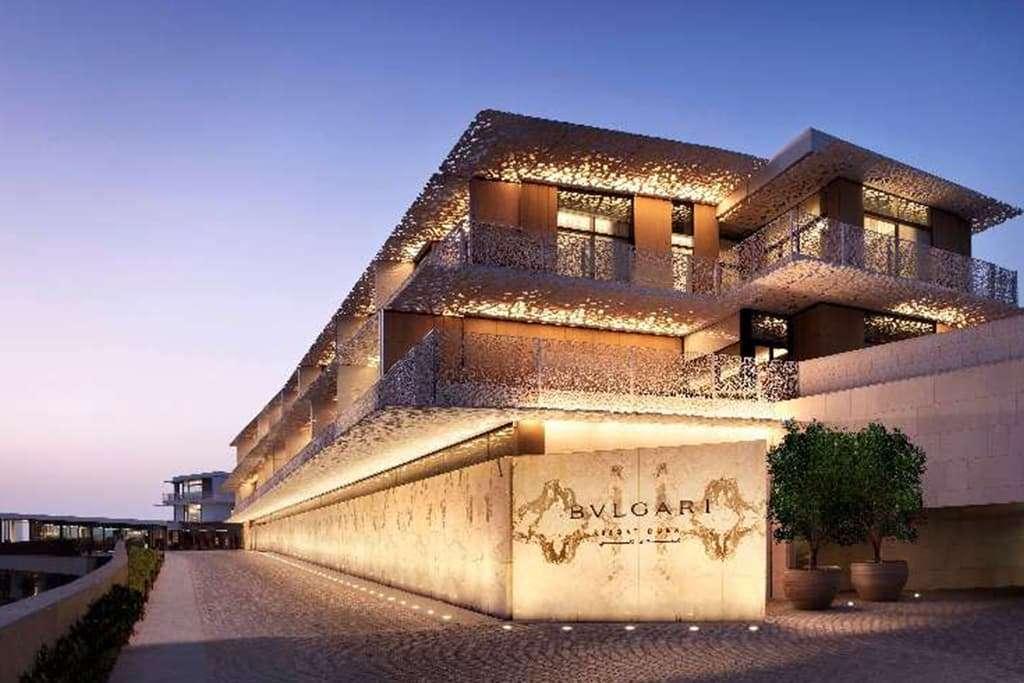 Bulgari resort Dubai Exterior View