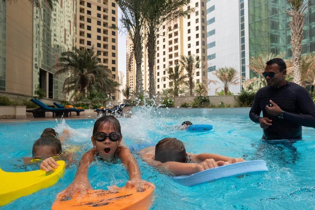 Ja oasis beach tower Child Swimming Pool