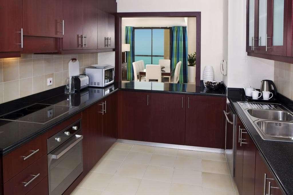 Hilton Dubai The Walk Apartment Kitchen