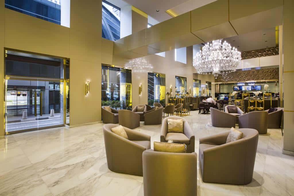 Hotel Lounge area