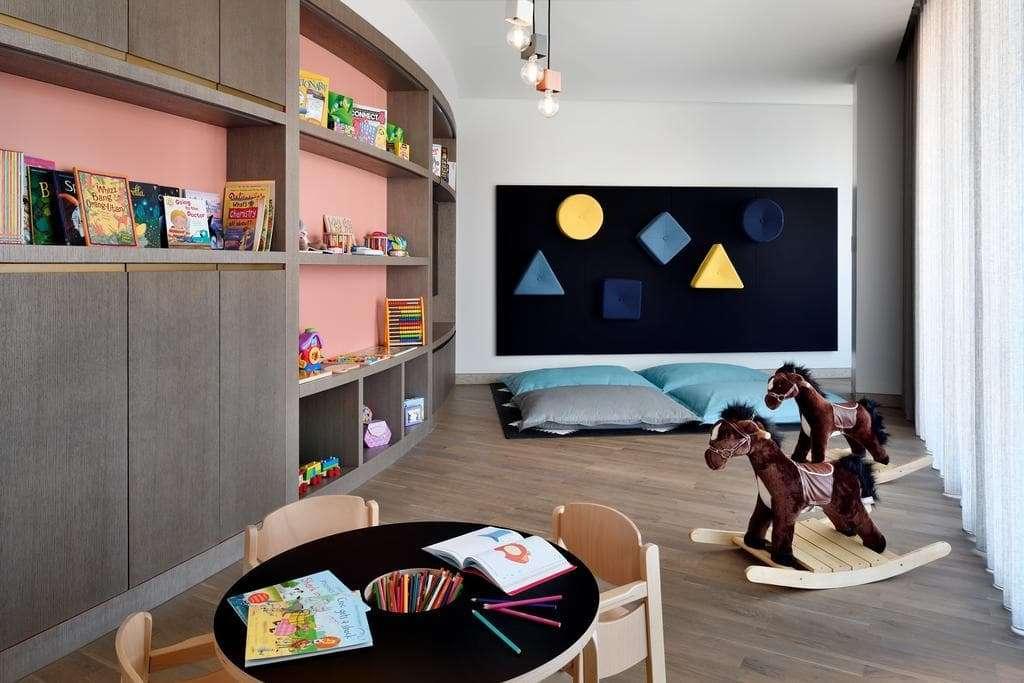 Inside Hotel Kids Club Play Area
