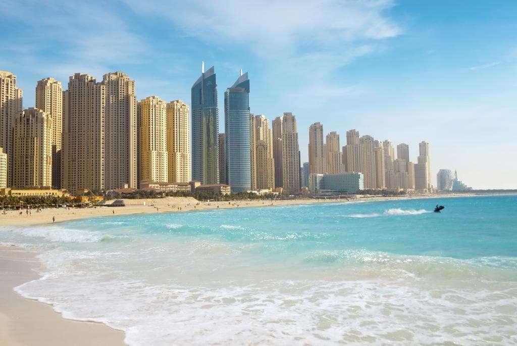 JA Oasis Beach Tower Exterior View