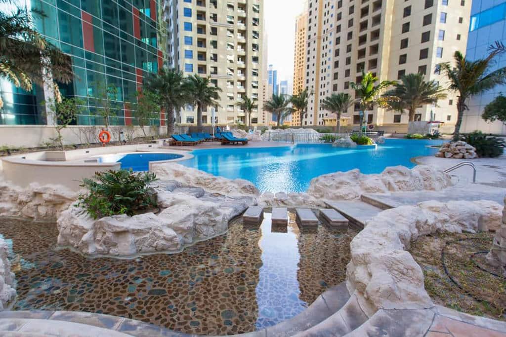 JA Oasis Beach Tower Swimming Pool