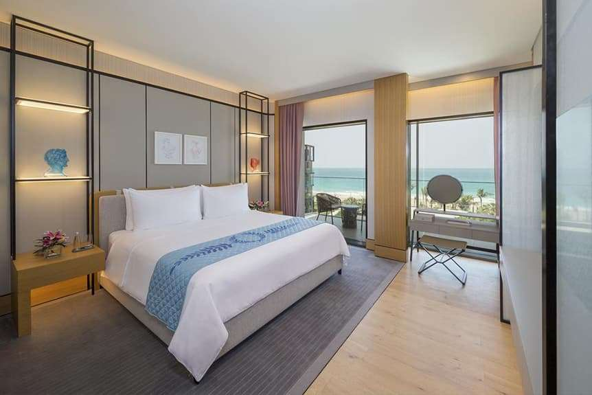 One Bedroom with balcony and sea view