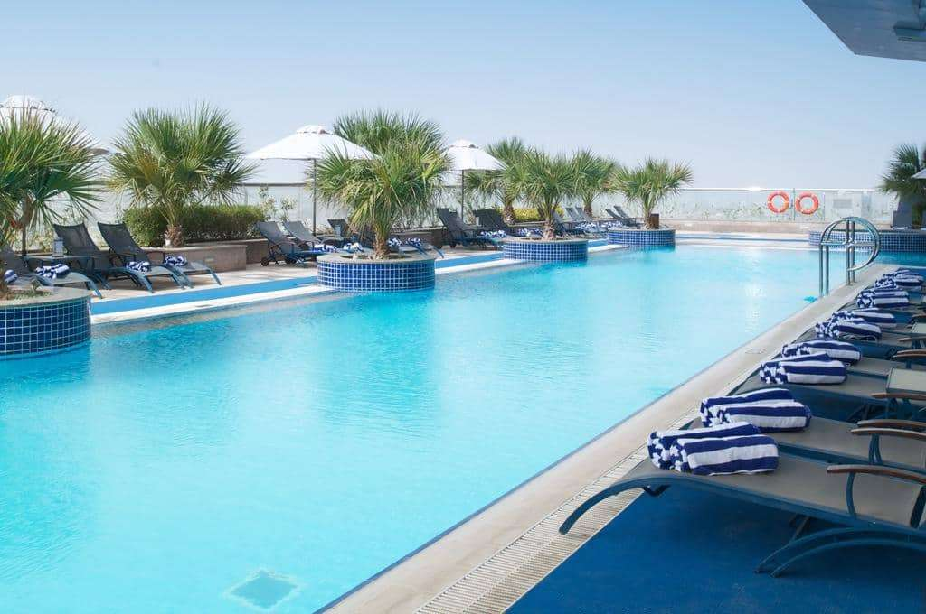 Outdoor swimming pool