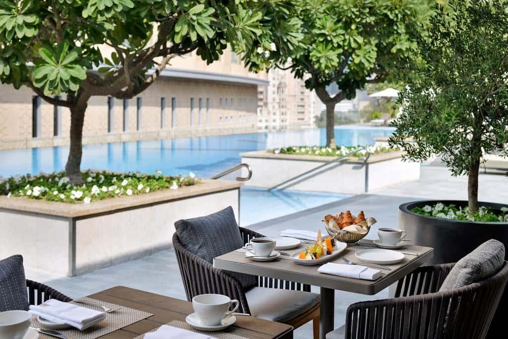 Poolside Mediterranean restaurant Cabana