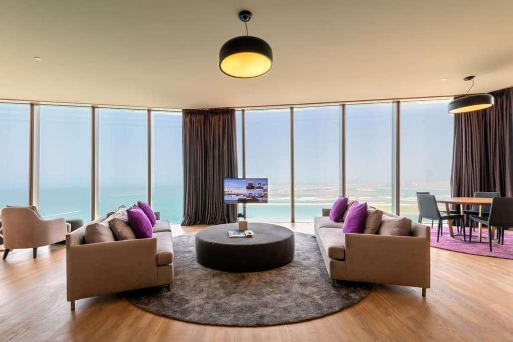 Premium Suite Living and Dining area