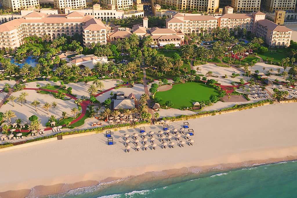 Ritz carlton jumeirah beach Exterior View