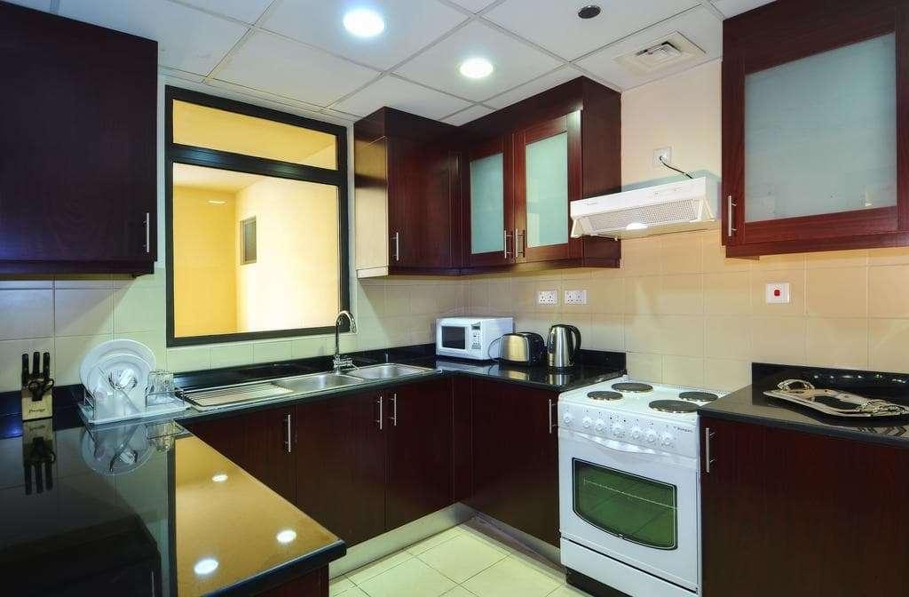 Roda Amwaj Suites Apartment Kitchen