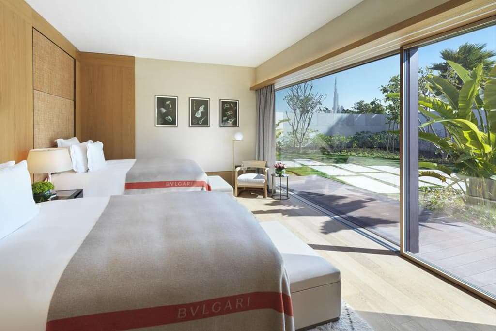 Three Bedroom Pool Villa with Skyline and Burj Khalifa View